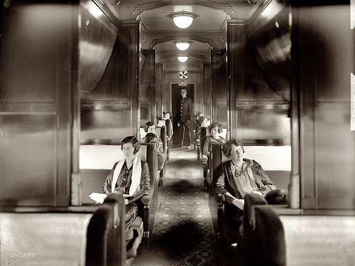 The ladies-only traincar