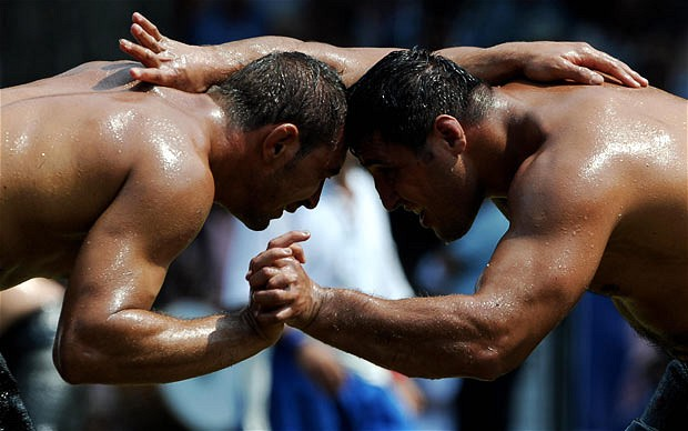 Turkish Oil Wrestlers