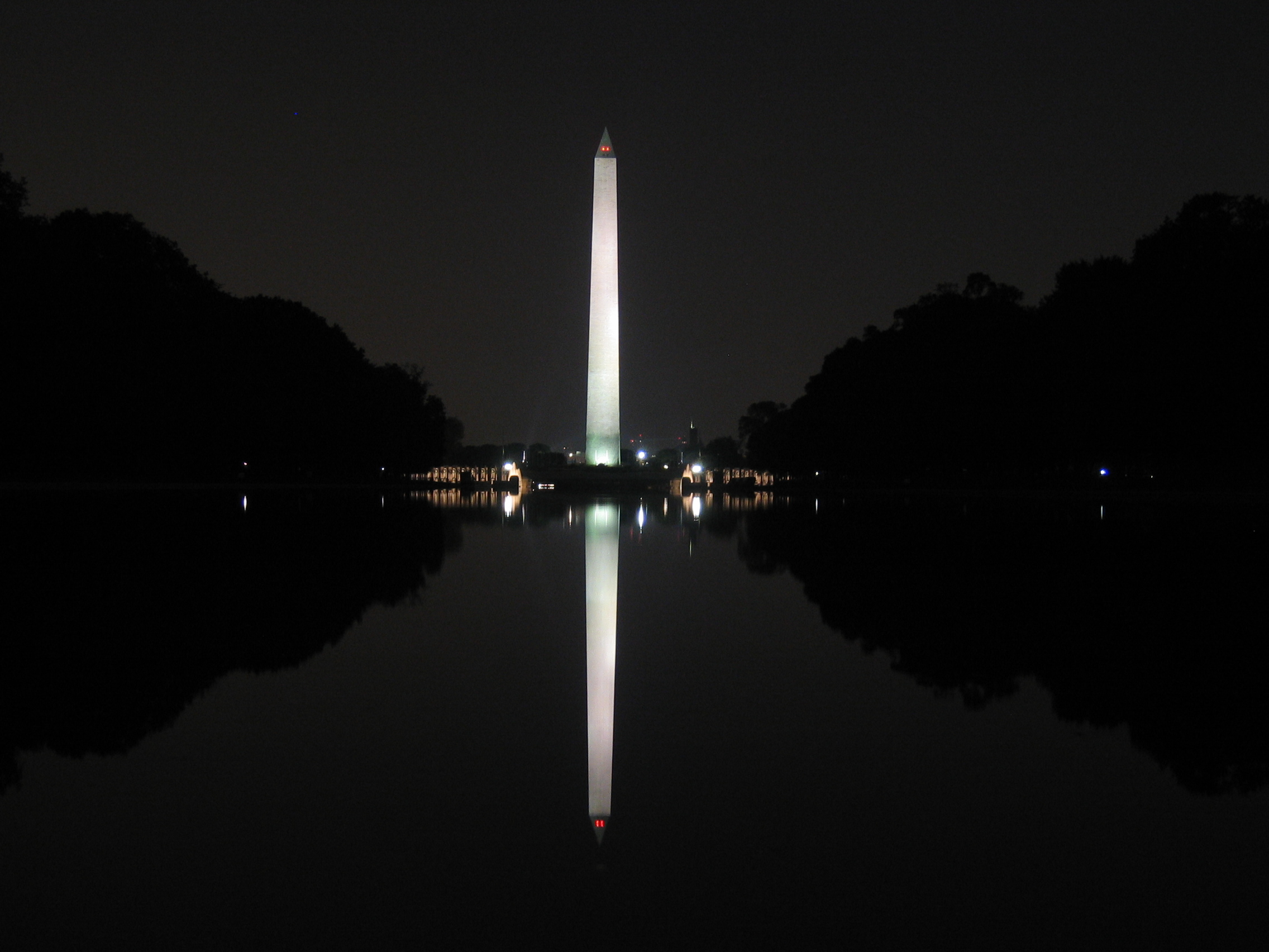 Washington Monument at Night