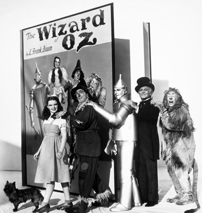 Wizard of Oz promo photo, 1939