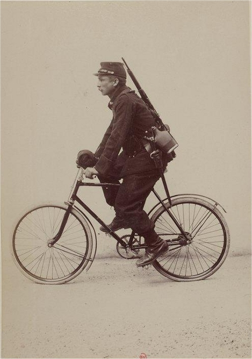 WWI SOLDIER BIKE 500