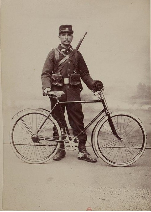 WWI SOLDIER BIKE 501