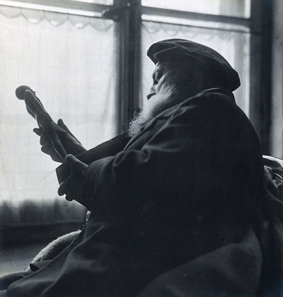 Auguste Rodin, French Sculptor, in his twilightyears