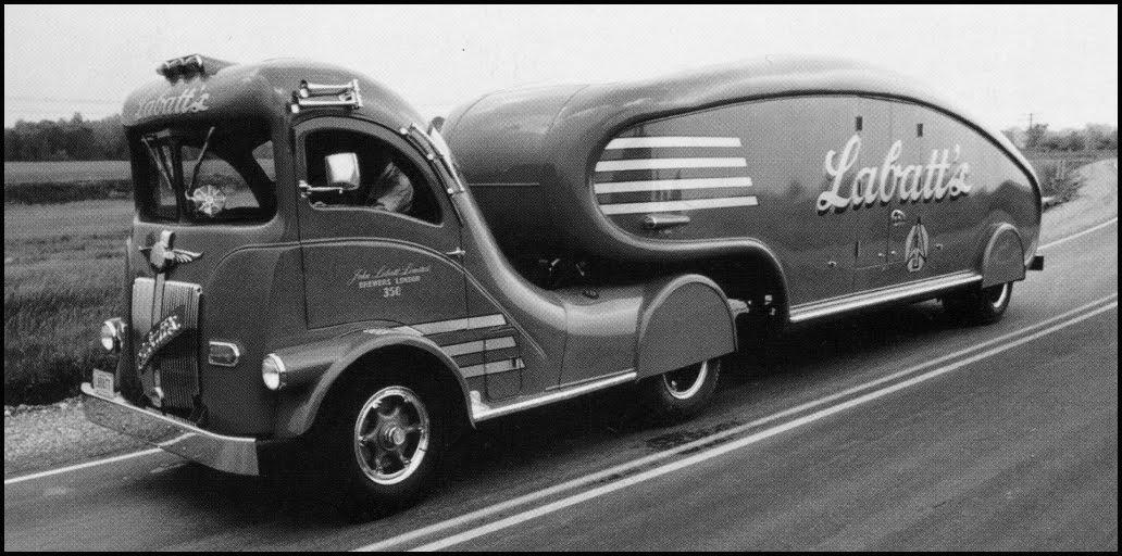 Labatt S Delivery Truck Canada 1930s Matthew S Island