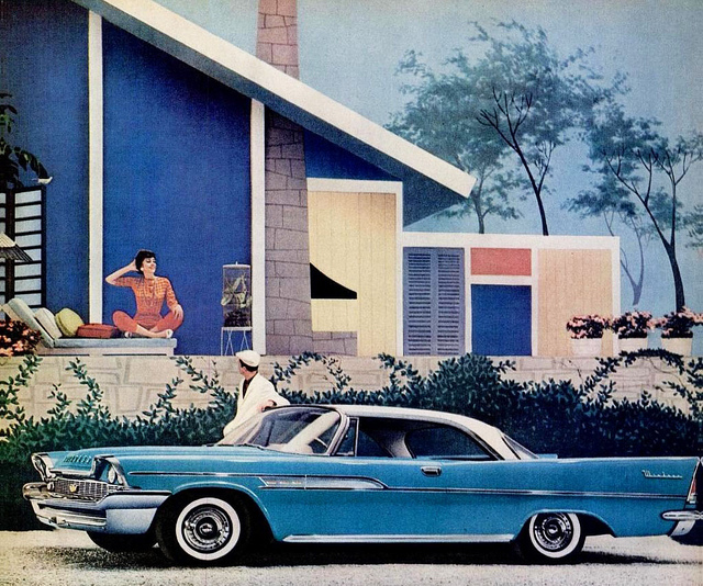 1958 Chrysler Windsor Dartline