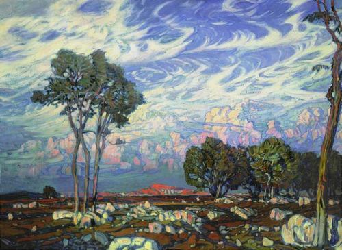 Konstantin Boegerovsky, Russian Painter,1903