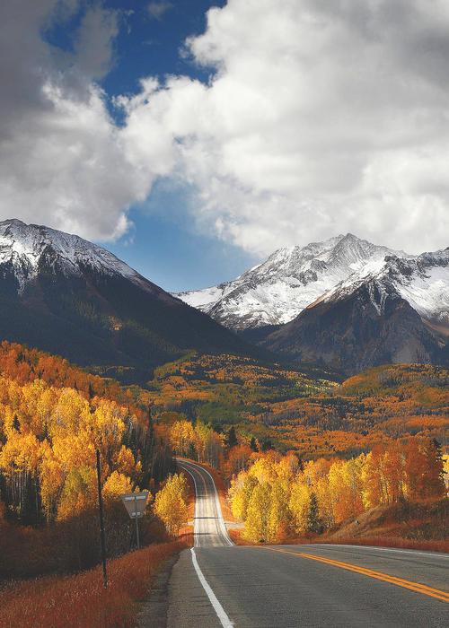 Autumn in themountains
