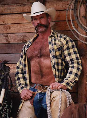 Gratuitous Bare Chested Cowboy, WadeNeff