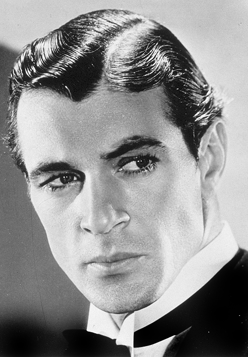 Gary Cooper,  movie studio portrait,1931