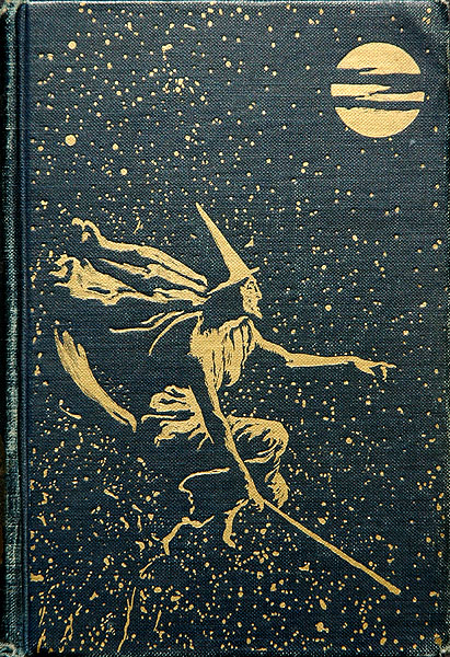Witch on a bookcover