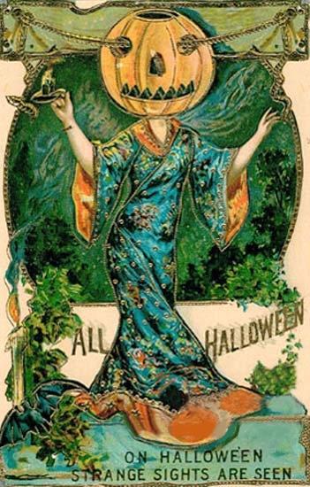 On Halloween strange sights areseen