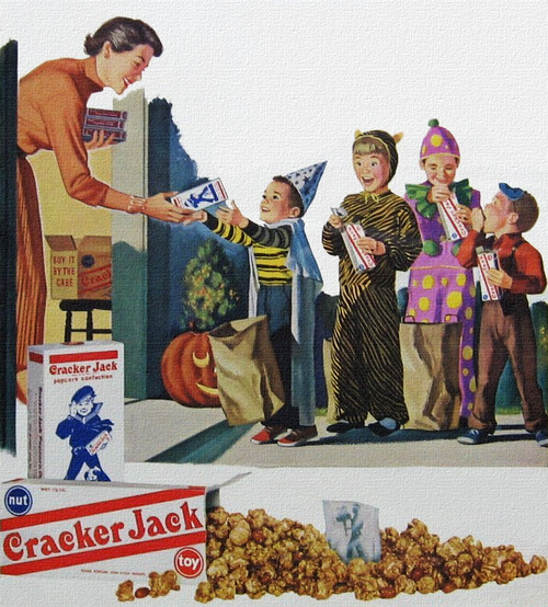 Cracker Jacks for Halloween, 1950s