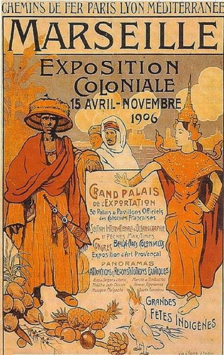 Exposition Coloniale, Marseille, 1906