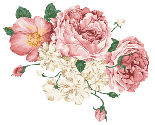 pink flowers 324