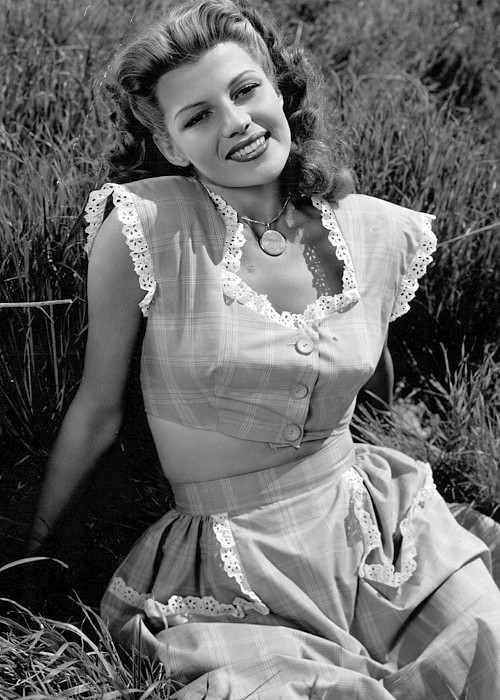 Rita Hayworth as a countrygirl