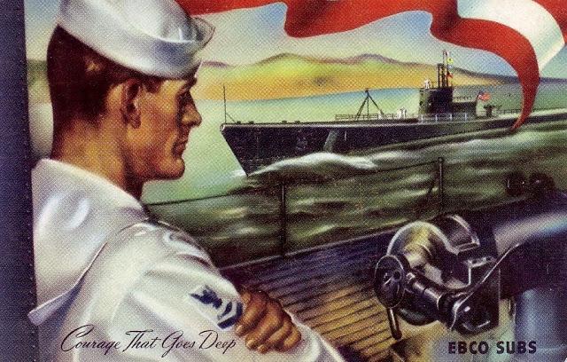 Submarine crew members: Courage that goesdeep