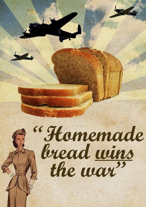 Homemade bread wins thewar