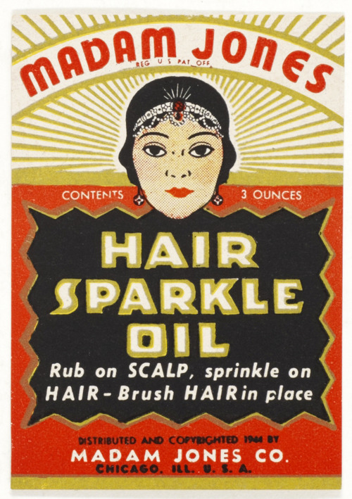 Madam Jones Hair Sparkle Oil