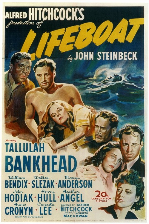 """Alfred Hitchcok's """"Lifeboat"""""""