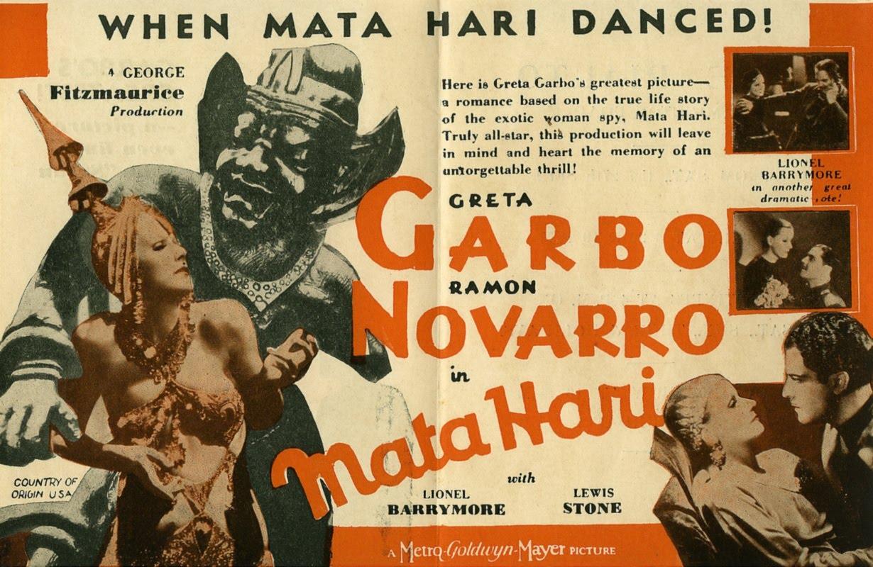 Mata Hari, lobbycard