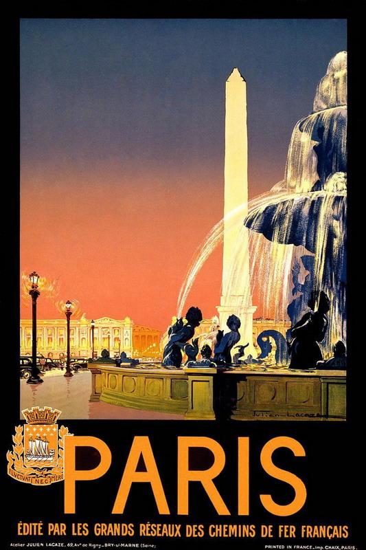 Paris poster, 1930s