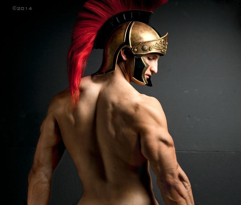 Male gladiator porn