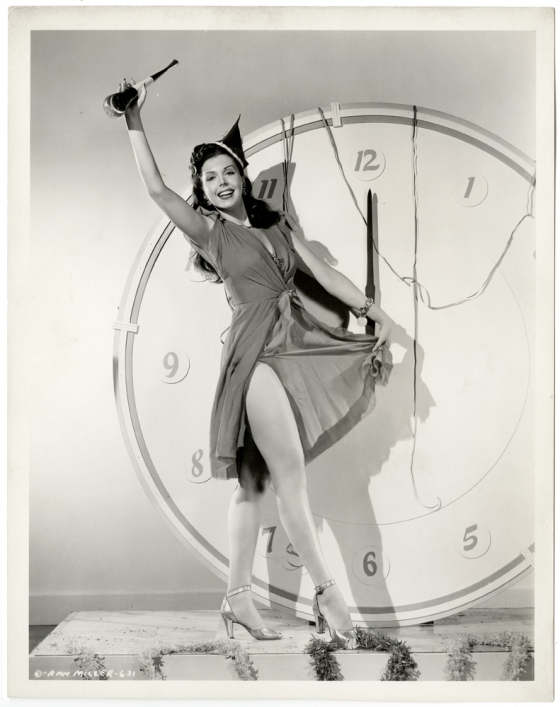 ann miller new years