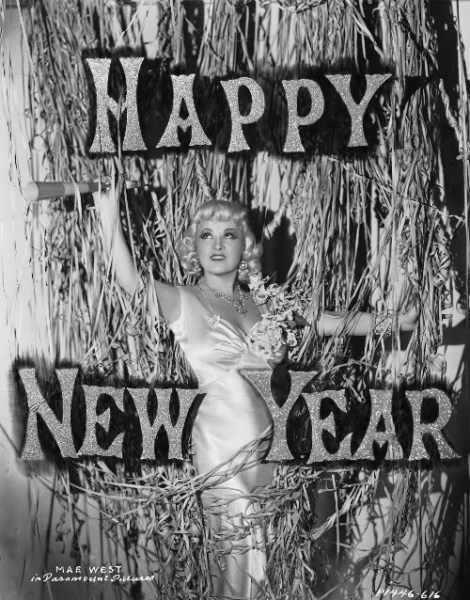 Happy New Year from Mae West