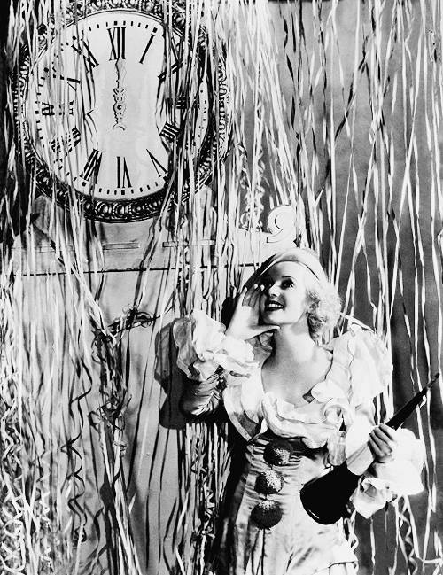 Happy New Year from… is that young Bette Davis?