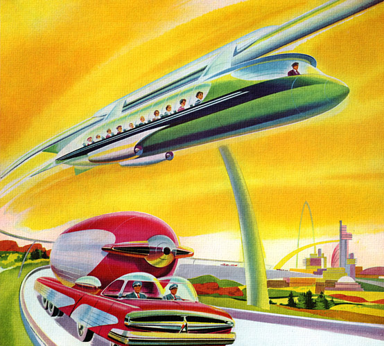Future Travel (as predicted in the1950s)