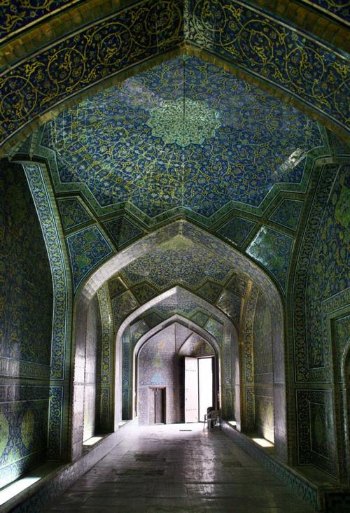 Mosque in Isfahan,Iran
