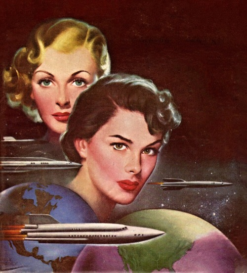 Woman and IntergalacticTravel