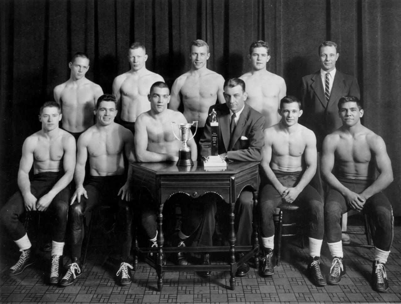 1955 University of Wisconsin Wrestling Team