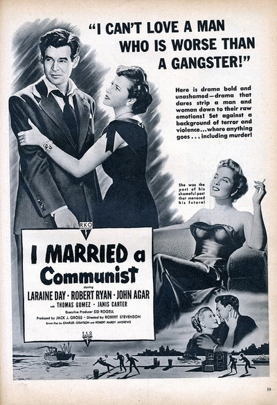 I Married a Communist… who is worse than a gangster!