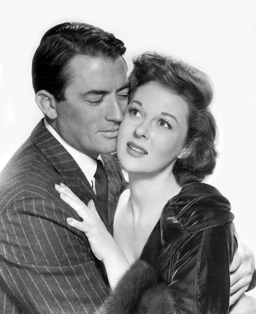 Gregory Peck and Susan Hayward,1952