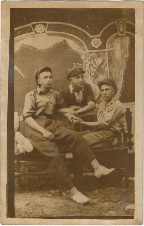 Three men together