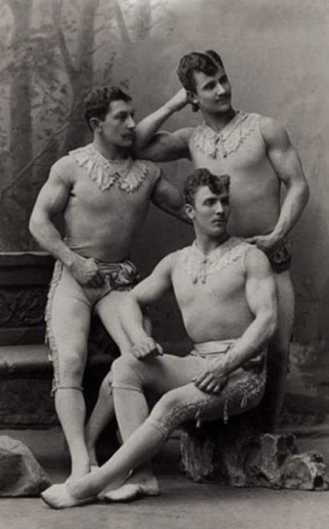 3 men together