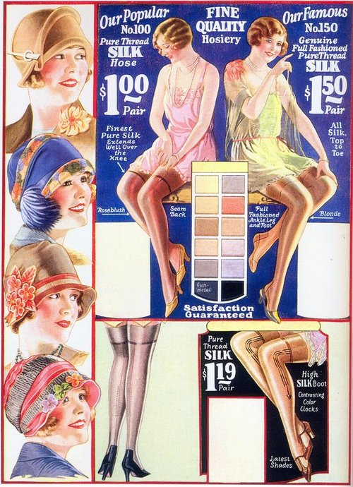 Hosiery and Hats, 1920s (or early1930s?)