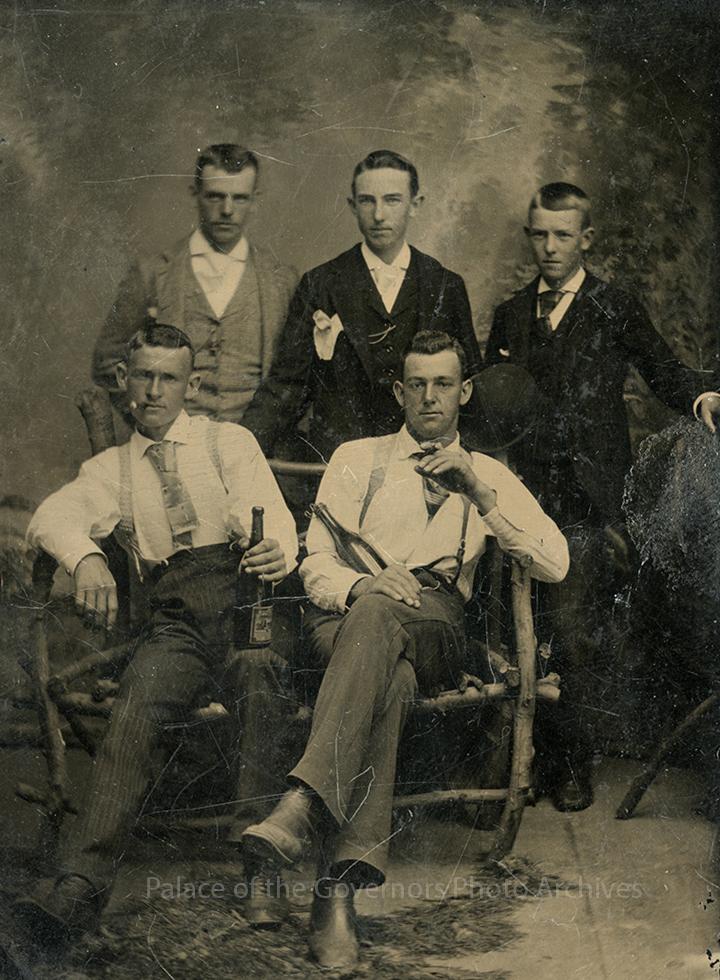 5 Men Together