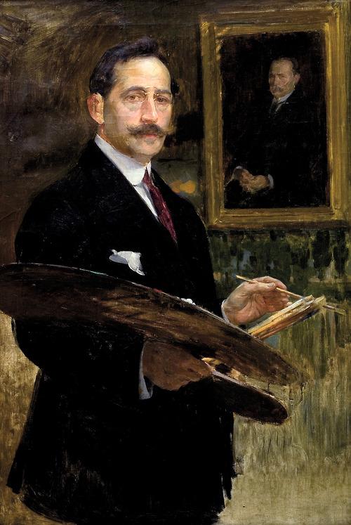Enrique Simonet Self-Portrait