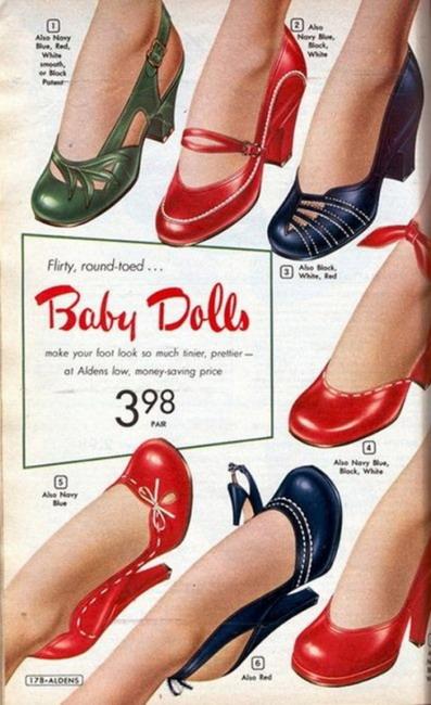 Flirty, round-toed… BabyDolls!