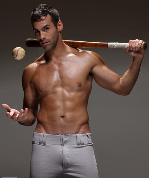 baseball shirtless 233