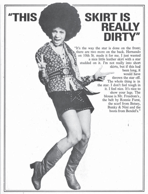 This skirt is really dirty – BettyDavis