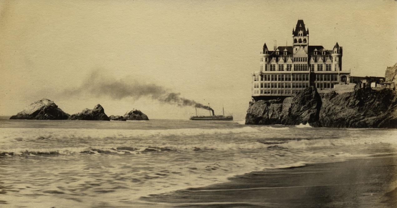 The Cliff House, San Francisco (before it burned down in1907)
