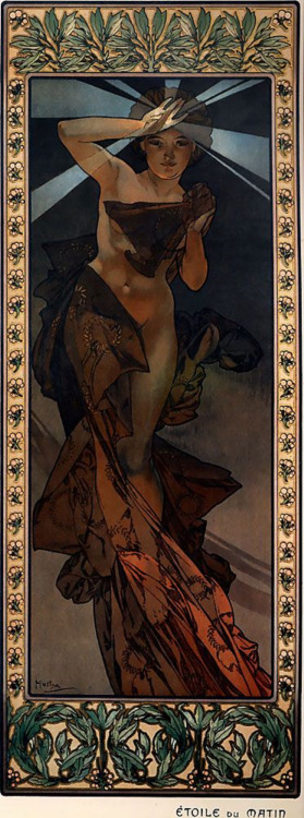 """Etoile du Matin"" par AlphonseMucha"