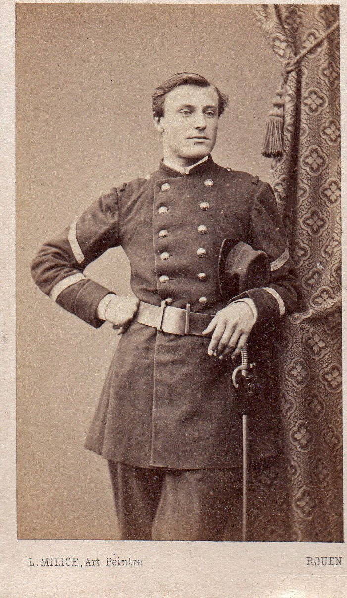 Handsome French Officer, 1800s