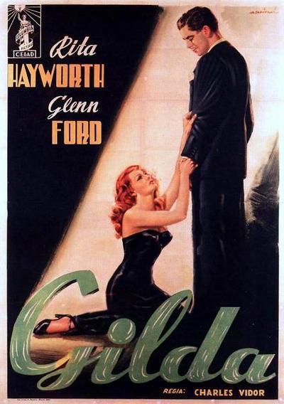 Gilda, starring Rita Hayworth and GlennFord