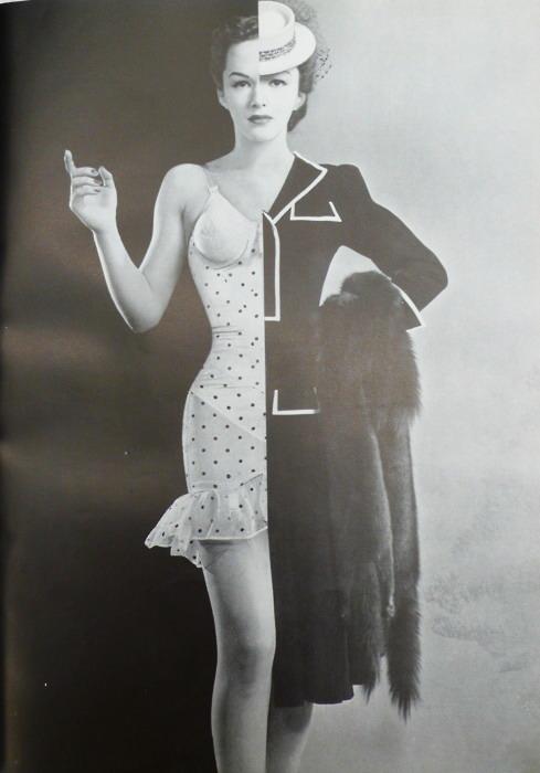 Half Dressed Model,1940s