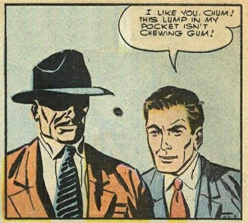 I like you,chum!