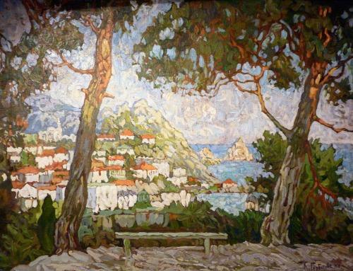 Konstantin Gorbatov (Russia 1876-1945), Capri 1910s